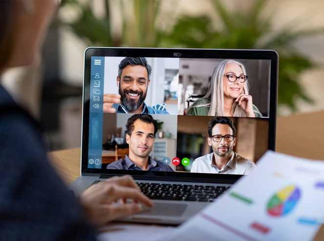 Home office: como se comportar durante uma reunião online?